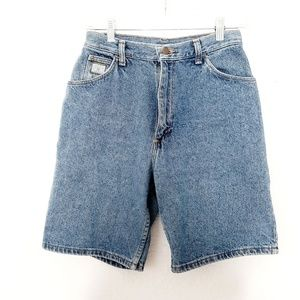 80-90s Vintage Wrangler High Rise Denim Mom Shorts